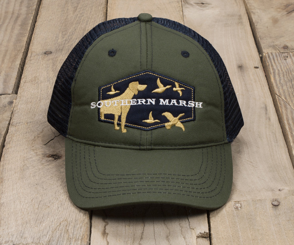 Trucker Hat - Hunting Dog — Southern Marsh Collection afb69efd0379