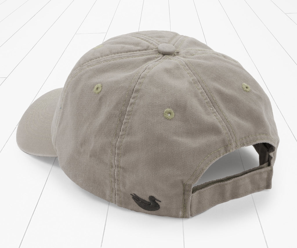 Burnt Taupe | Thompson Twill Hat | Geese | Back