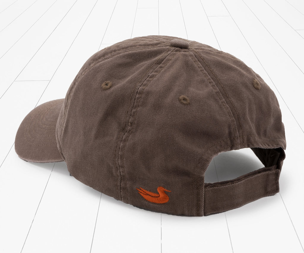 Stone Brown | Thompson Twill Hat | Geese | Back