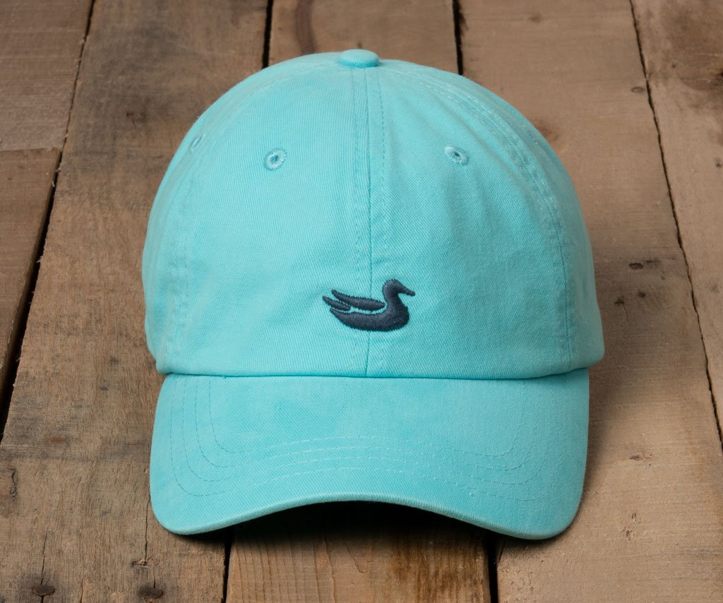 Washed Antigua Blue Hat with Slate Duck | Southern Marsh Washed Hat
