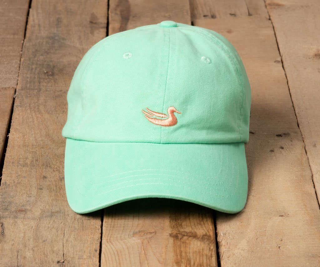 Bimini Green Hat with Melon Duck