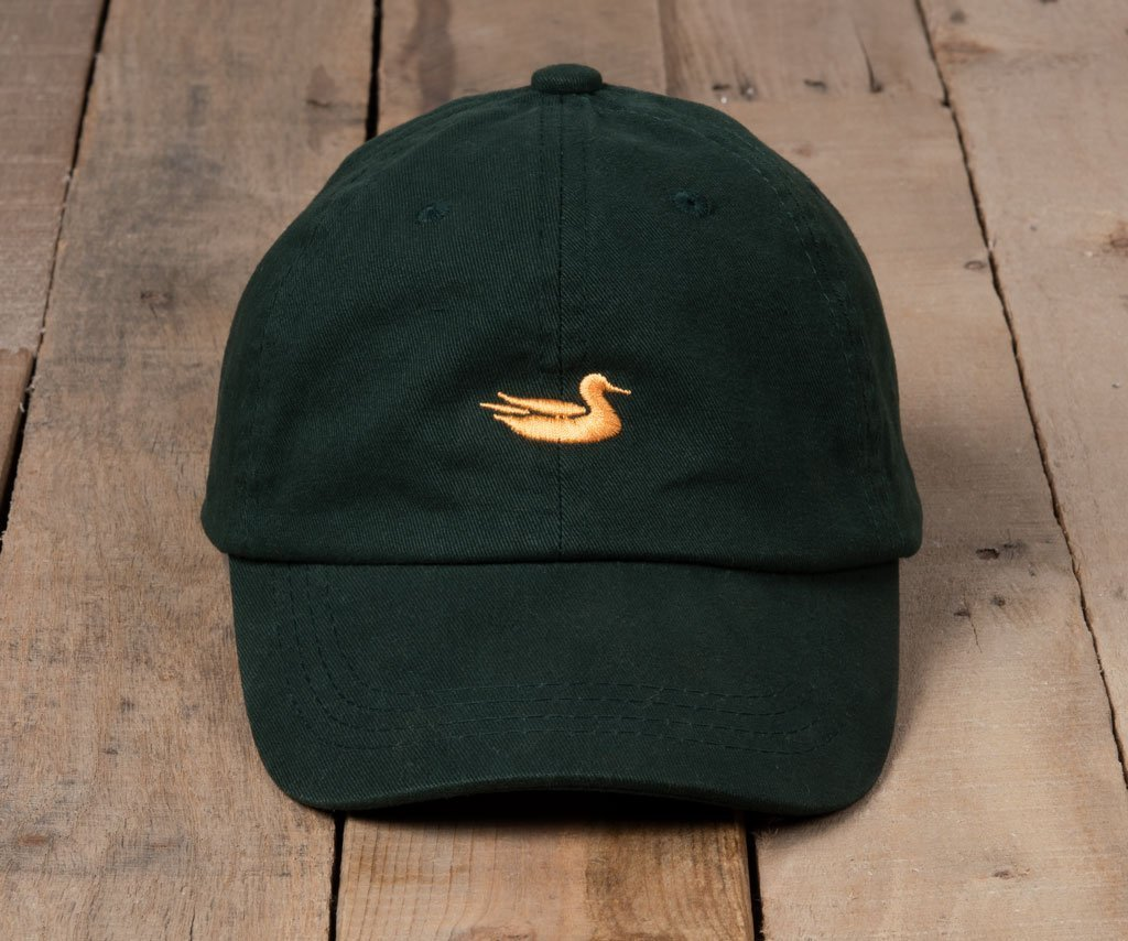 Dark Green Hat with Yellow Duck