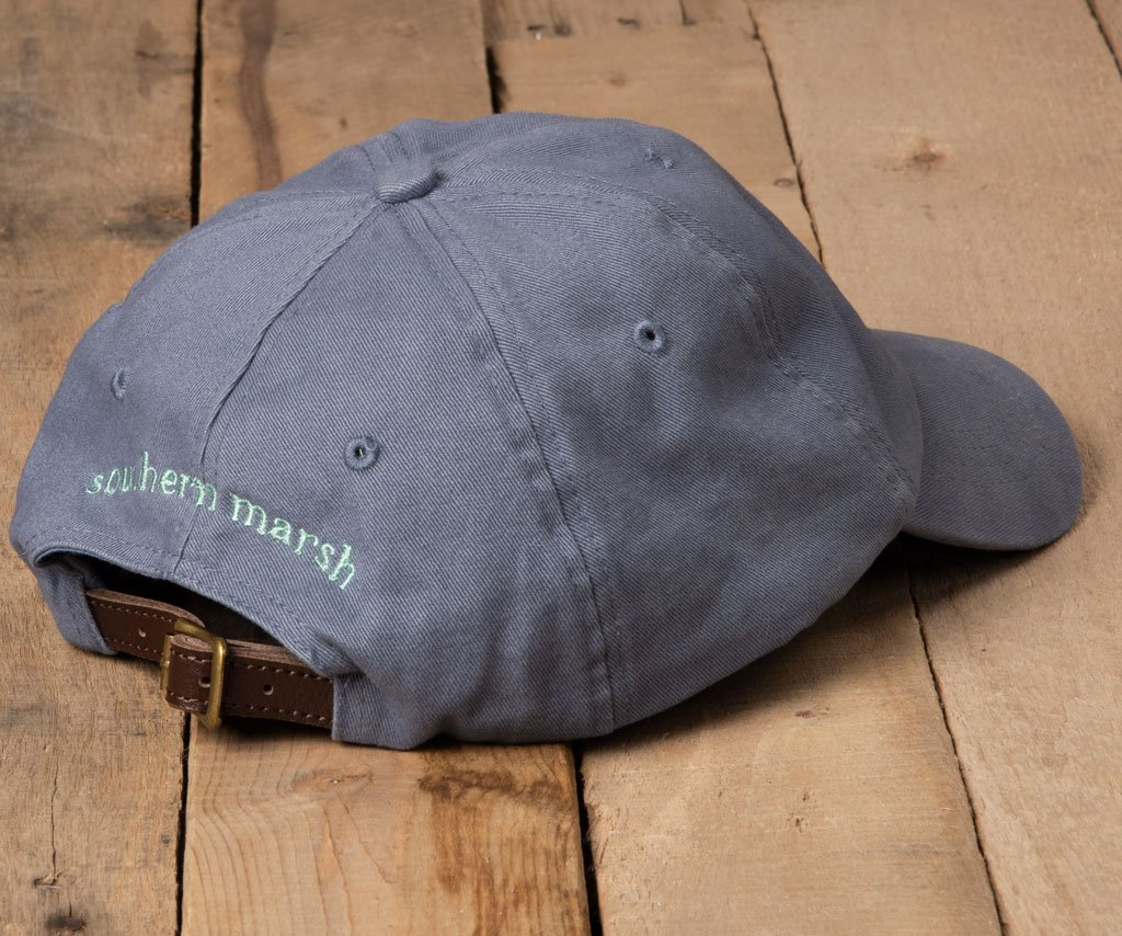 Slate Hat with Green Duck | Southern Marsh Washed Hat