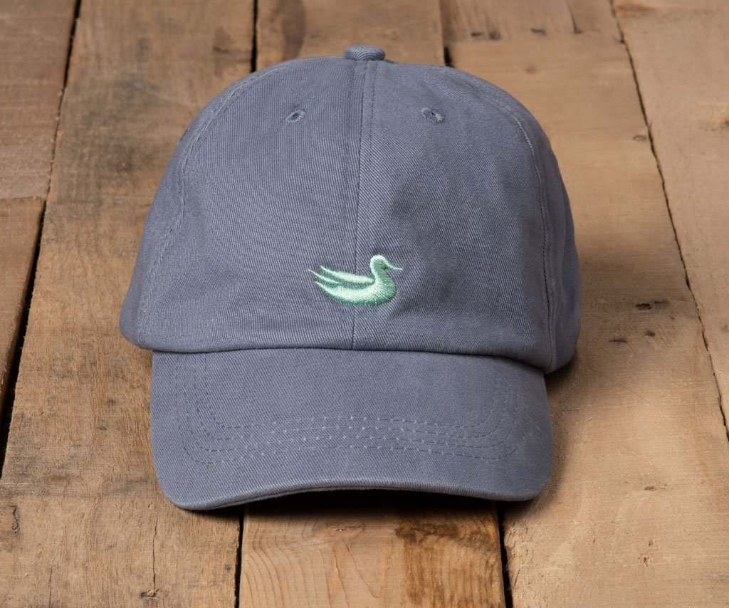 Slate Hat with Green Duck