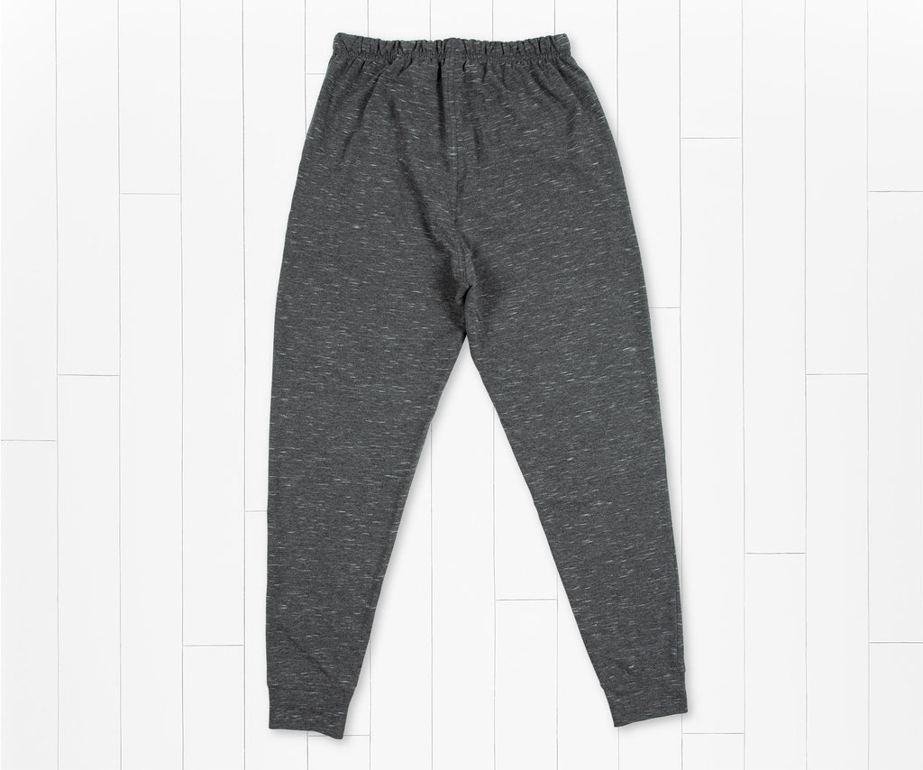 Midnight Gray | Hearth French Terry Lounge Pant | Back