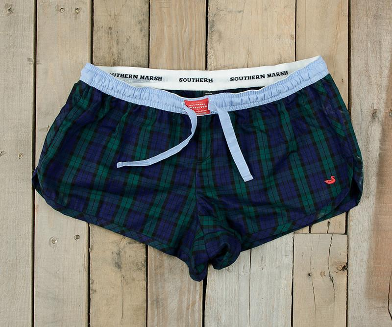 Chandler Tartan Lounge Short