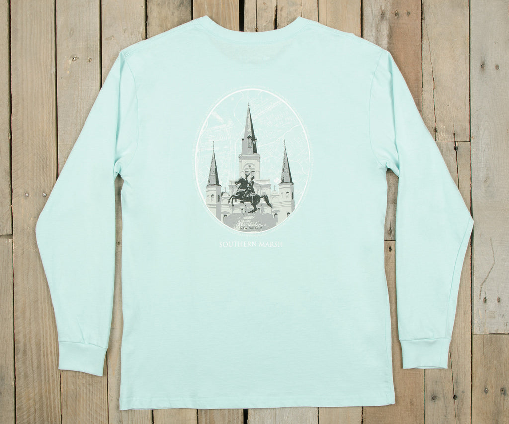 Jackson Square Tee - Long Sleeve