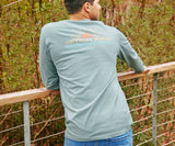 Burnt Sage | Branding Collection Tee | Sunset | Long Sleeve T-Shirt | Southern Lifestyle | Light Outdoors Shirt