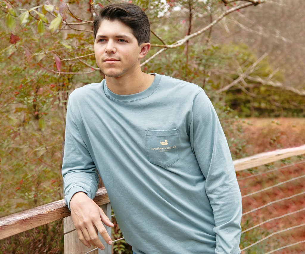 Burnt Sage | Branding Collection Tee | Sunset | Long Sleeve T-Shirt | Southern Lifestyle
