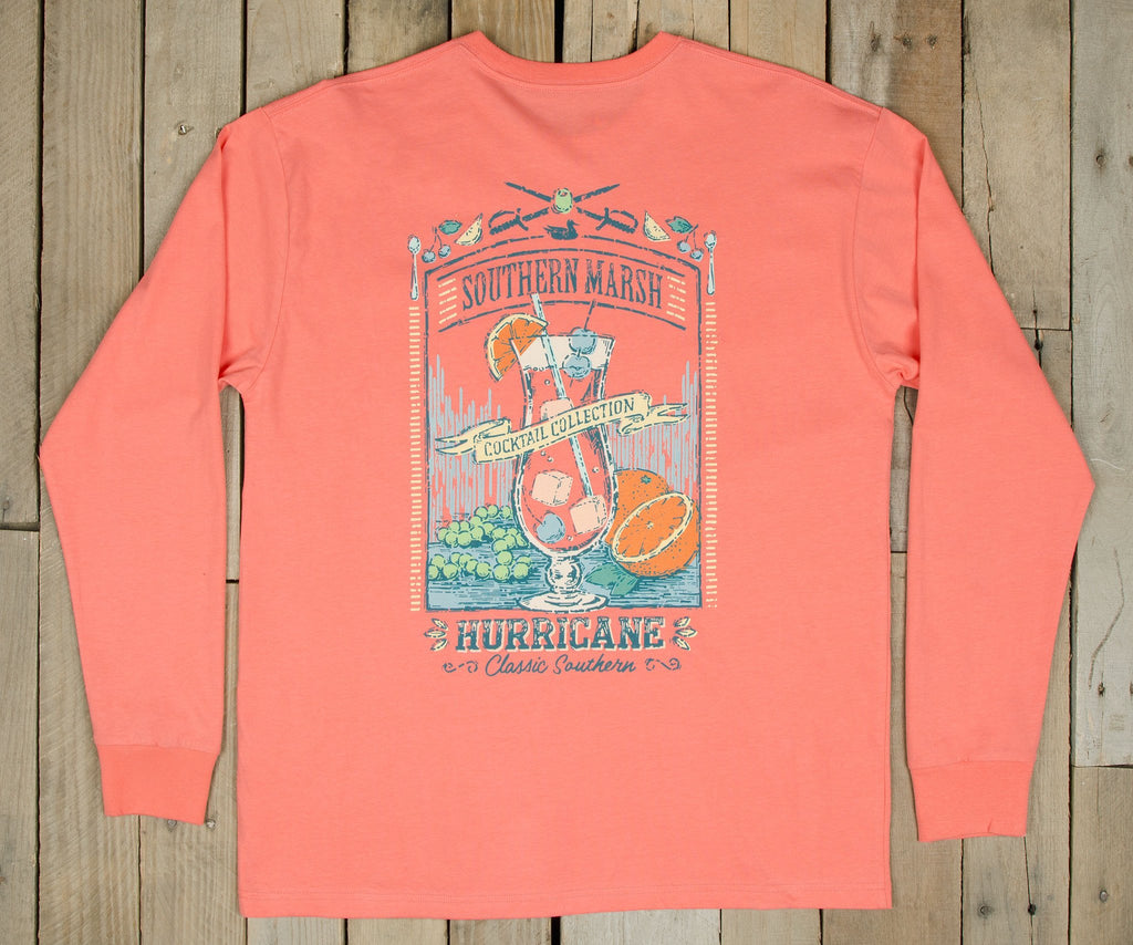 Cocktail Collection Tee - Hurricane - Long Sleeve