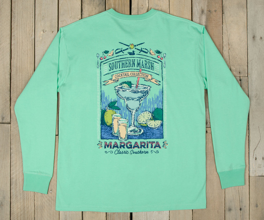 Cocktail Tee - Margarita - Long Sleeve