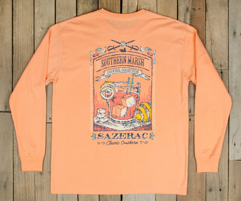 Cocktail Collection Tee - Sazerac - Long Sleeve