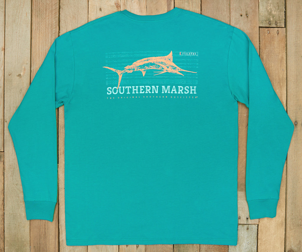 FieldTec™ Fish Tee - Long Sleeve