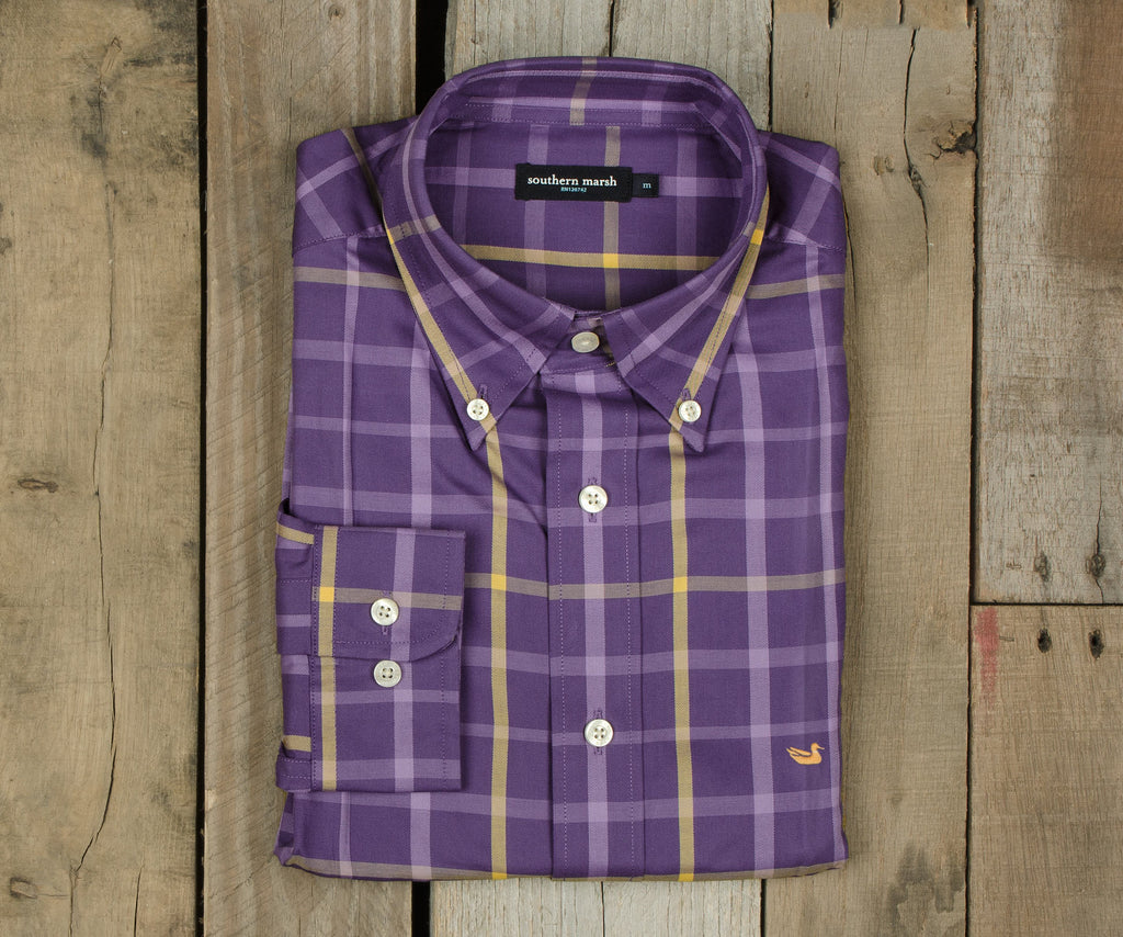 Lafitte Tattersall Dress Shirt