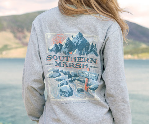 Mountain Weekend Tee - Long Sleeve