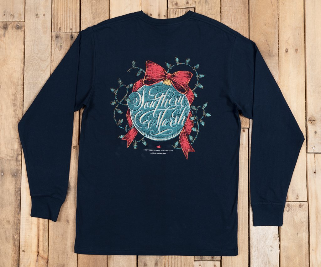 Signature Ornament Tee - Long Sleeve