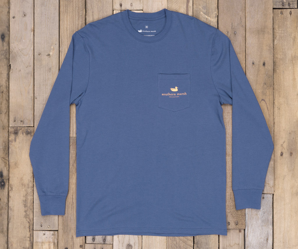 Southern Class Tee - Shotgun Shell - Long Sleeve