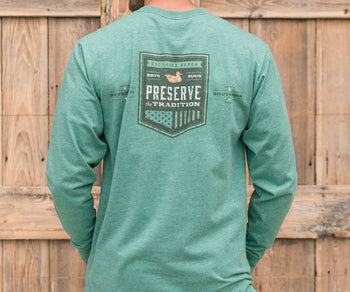 Southern Tradition Crest Tee - Long Sleeve