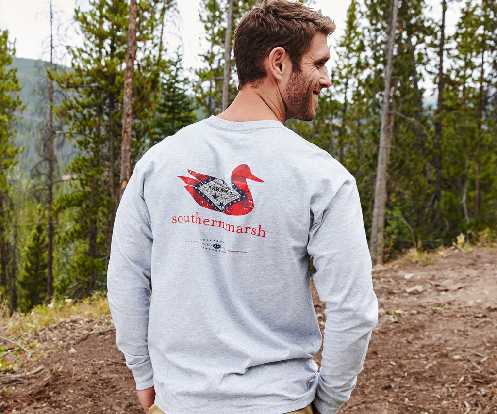 Authentic Heritage Tee - Arkansas - Long Sleeve