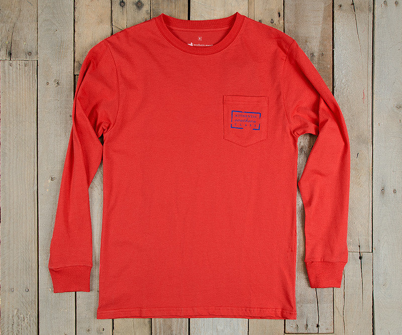 Authentic Heritage Tee - Mississippi - Long Sleeve