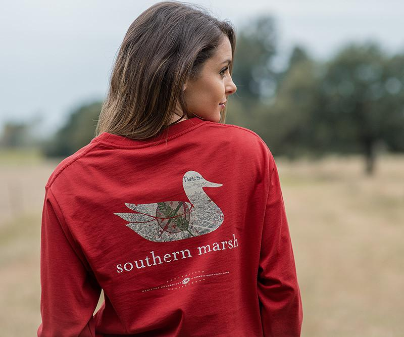 Authentic Heritage Tee - Oklahoma - Long Sleeve