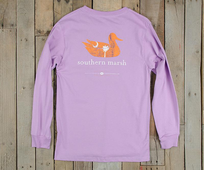 Authentic Heritage Tee - South Carolina - Long Sleeve