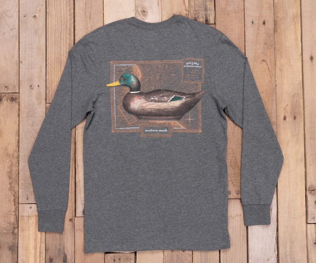 Vintage Decoy Mallard Tee - Long Sleeve
