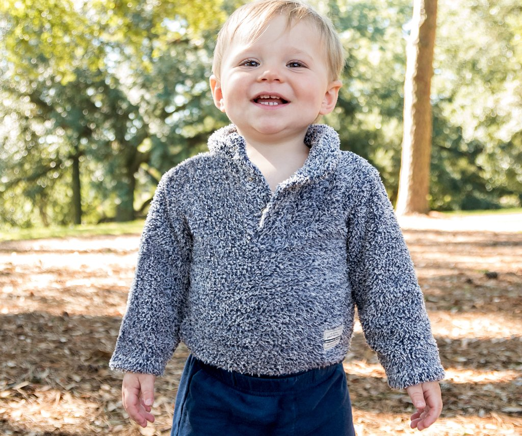 3925a23c9 Baby Sherpa Snap Onesie — Southern Marsh Collection