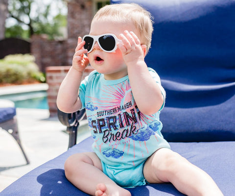 SEAWASH™ Snap Onesie - Spring Break