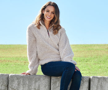 Appalachian Pile Sherpa Pullover