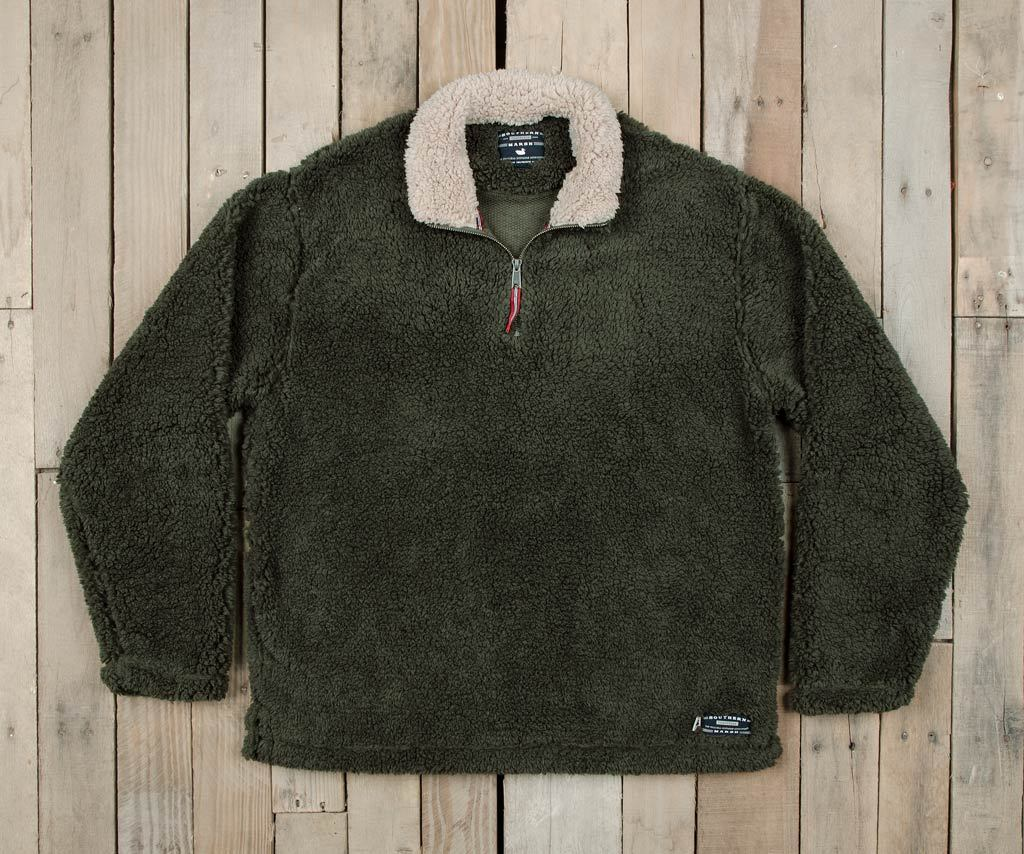 Stone Brown with Tan | Appalachian Pile Sherpa Pullover