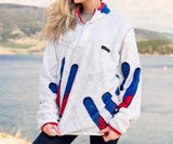White and Red | Aspen Backcountry Pullover