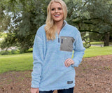 Lilac and Mint | Blue Ridge Sherpa Pullover