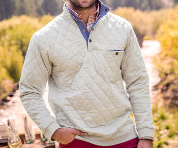 Ryan Quilted Pullover