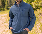 Washed     Navy | FieldTec™ Contour Pullover | Front