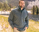 Charcoal Gray | FieldTec™ Ridgeway Performance Pullover | Front