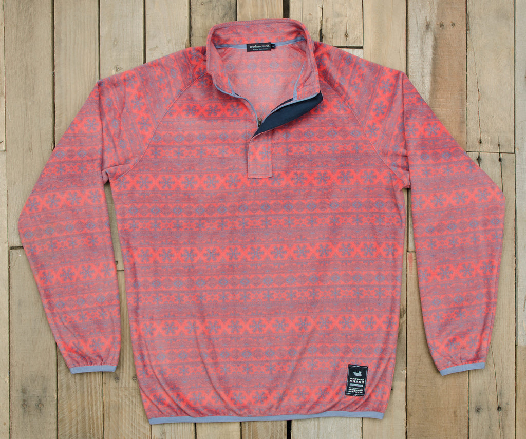 8256ad395c1501 Monmouth Flurry Fleece Pullover — Southern Marsh Collection