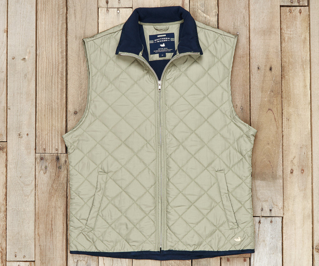 Southern Marsh Collection Marshall Quilted Vest