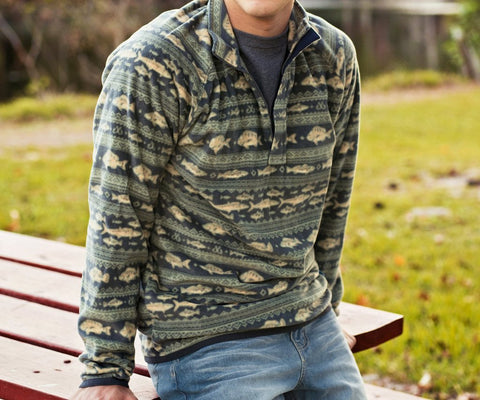 Angler Fleece Pullover