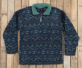 Slate  and Mint | Appalachian Peak Sherpa Pullover