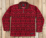 Washed Red and Brown | Appalachian Peak Sherpa Pullover