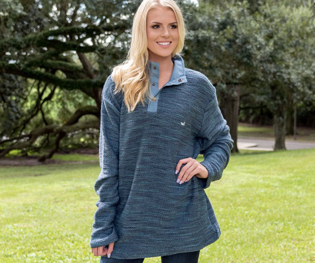 Pawleys Rope Pullover - Stripes