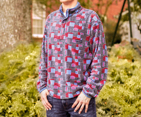 Star-Spangled Fleece Pullover
