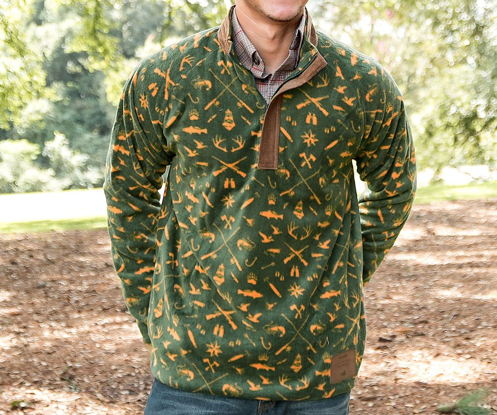 Woodlands Fleece Pullover