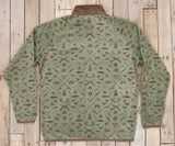 Sandstone and Stone Brown Woods | Woodlands Fleece Pullover | Back