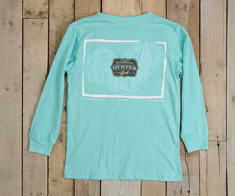 Youth Oyster Festival Tee - Long Sleeve