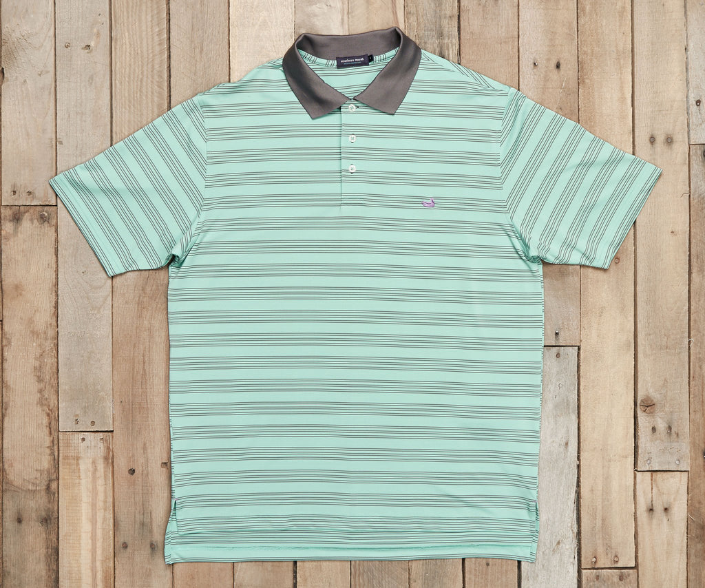 Bermuda Performance Polo - Murray Stripe
