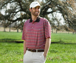 Bermuda Performance Polo - Warwick Stripe