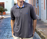 Midnight Gray | Emerson Performance Polo