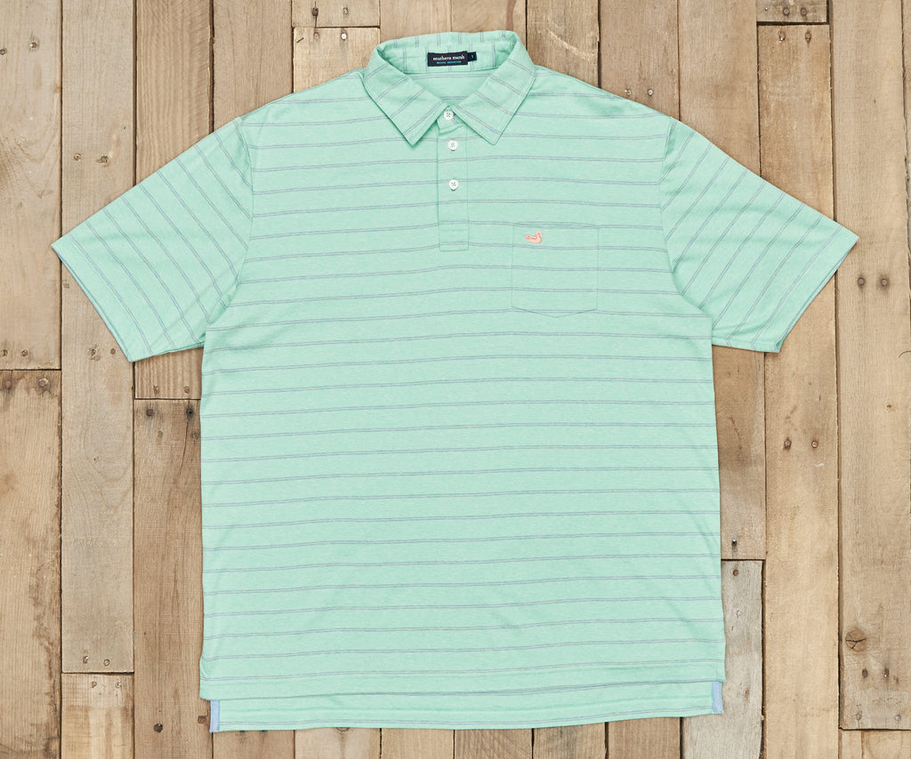 Harrington Performance Polo - Striped